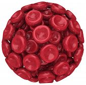 Blood Cell Sphere Clot Medical Condition Disease