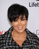 LOS ANGELES - DEC11:  Kris Jenner arrive to Women in Entertainment Breakfast 2013  on December 11, 2