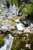 Waterfall,  Julian Alps