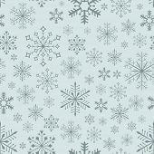 Abstract seamless bluish snowflake background. For eps file look id:110902379