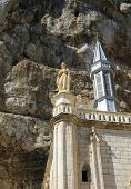 Notre Dame de Rocamadour chapel in Rocamadour, France