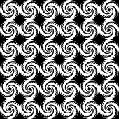Design Seamless Spiral Trellis Background