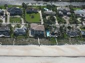 Aerial Of Vacation Homes