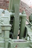 Mechanism Russian 85-mm Anti-aircraft Gun