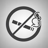 Do not smoking icon