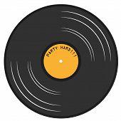 Gramophone Lp Record