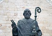statue of st nicholas