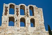 image of akropolis  - a view of the Acropolis of Athens Greece - JPG