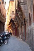 Medieval Street In Bologna poster
