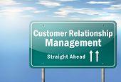 Highway Signpost Customer Relationship Management