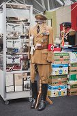 Nazi Uniform On Display At Militalia In Milan, Italy