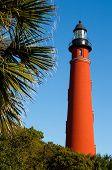 picture of inlet  - The brilliant red lighthouse at Florida