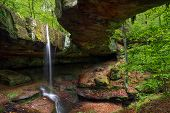 Rockbridge In The Hocking Hills Of Ohio