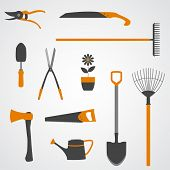 Garden Tools Icons