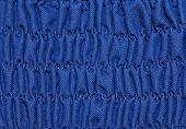 Blue Pleated Dress Texture.