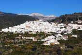 White town, Archez, Spain.
