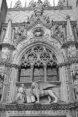 Fragment Of Facade Of Basilica Di San Marco