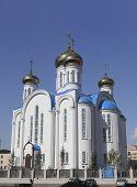 Church In Astana. Kazakhstan. Central Asia.