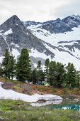 Beautiful landscape of Altai mountains