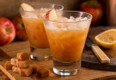 Caramel Apple Cider Cocktail