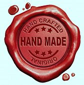 picture of kindness  - hand made exclusive handmade hand craft custom crafted authentic one of a kind red wax seal stamp button - JPG
