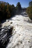River Waterfall Bracebridge Ontario