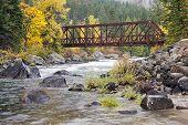 Tumwater Canyon Bridge.