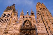 Rouen Cathedral, France.