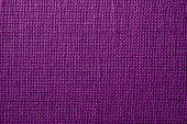 Fabric With Crisscross Fibers Of Dark Lilac Color