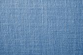 Fabric With Crisscross Fibers Of Light Blue Color