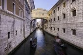 Bridge of Sighs, Venice, Italy.