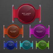 Vector moder banners element design