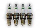 Set of spark plugs