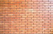 horizon brickwork wall vintage background