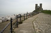 Reculver Towers Herne Bay Sea Defenses
