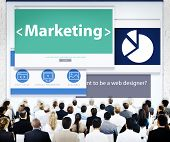 Business People Marketing Web Design Concept