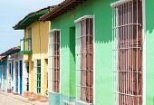 Colonial Houses In Trinidad,cuba