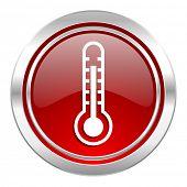 thermometer icon, temperature sign