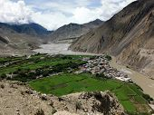 The Himalayan City Kagbeni In An Oasis