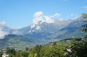 picture of south tyrol  - The Etsch Valley in South Tyrol - JPG