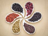 picture of teardrop  - dried superfruit collection  - JPG