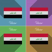 image of iraq  - Flags of Iraq - JPG