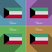 picture of kuwait  - Flags of Kuwait - JPG