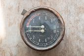 image of manometer  - Steampunk background - JPG