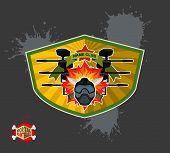 image of paintball  - paintball emblem club - JPG