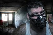 picture of queer  - Man in muzzle - JPG