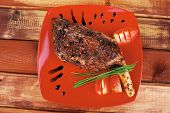 picture of red meat  - meat over white  - JPG