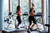 stock photo of treadmill  - sport - JPG