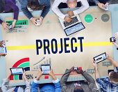 pic of enterprise  - Project Job Operation Activity Enterprise Concept - JPG