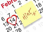 Valentine's day hint
